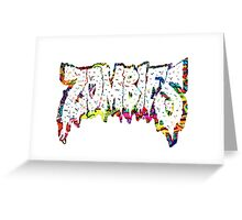Flatbush Zombies Trippy Greeting Card