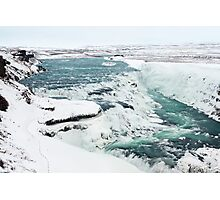Gullfoss Photographic Print