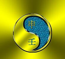 Monkey Yang Water by astrodesigner75
