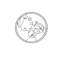 "Circular Gallifreyan: ""Love Knows No Boundaries"" by lucythewhovian"