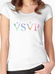 ASAP Tie Dye Women's Fitted Scoop T-Shirt