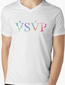 ASAP Tie Dye Mens V-Neck T-Shirt