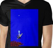Deep Reef Diving Mens V-Neck T-Shirt