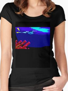 Kate Kelly Diving Women's Fitted Scoop T-Shirt