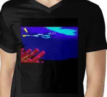 Kate Kelly Diving Mens V-Neck T-Shirt