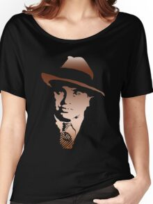 al capone portrait Women's Relaxed Fit T-Shirt