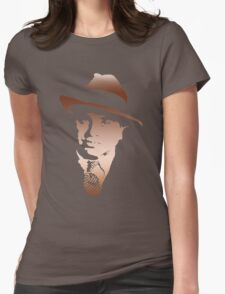 al capone portrait Womens Fitted T-Shirt