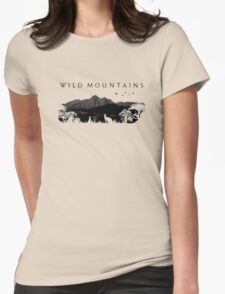 Wild Mountains Womens Fitted T-Shirt