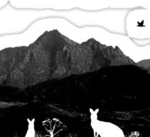 Wild Mountains Sticker