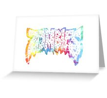 Flatbush Zombies Tie Dye Greeting Card