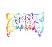 Flatbush Zombies Tie Dye Photographic Print