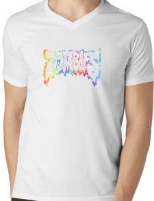 Flatbush Zombies Tie Dye Mens V-Neck T-Shirt