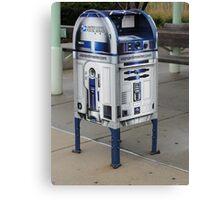 R2D2 Mailbox Canvas Print