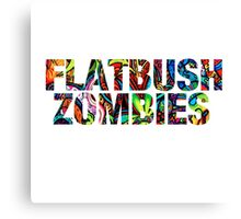 Flatbush Zombies Trippy Canvas Print