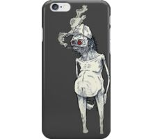 T-BAGS : Zombie (Black and White) iPhone Case/Skin