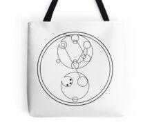 Circular Gallifreyan: End Homophobia Tote Bag