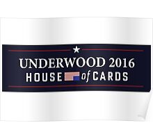 House of Cards - Frank Underwood 2016 Poster