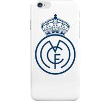 Real Madrid desing logo iPhone Case/Skin
