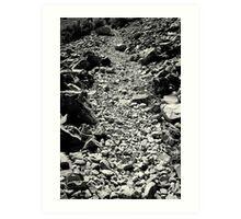 Stoney Path Art Print