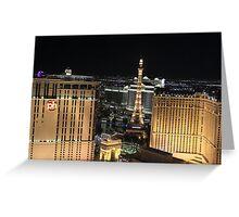 Las Vegas Panorama #1 Greeting Card