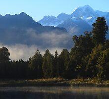 New Zealand South Island by Angelika  Vogel