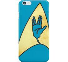 Star Trek - Vulcan Salute Badge iPhone Case/Skin