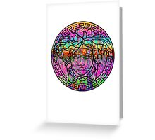 Versace 1 Greeting Card