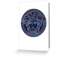 Versace 3 Greeting Card