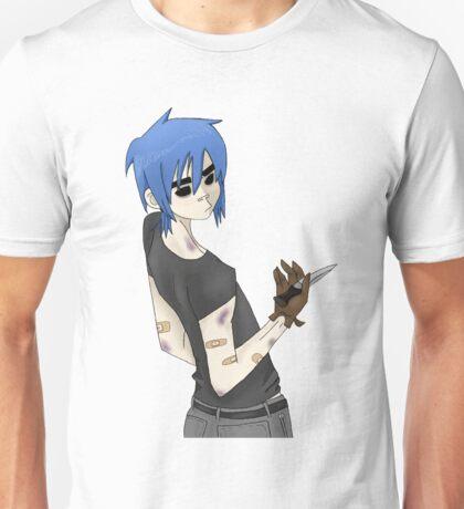 ponytail & switchblade 2d Unisex T-Shirt