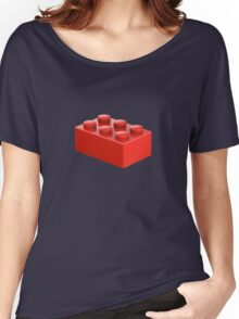 Toy Brick Women's Relaxed Fit T-Shirt