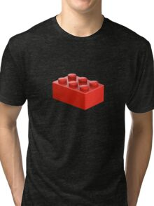 Toy Brick Tri-blend T-Shirt