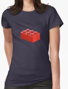 Toy Brick Womens Fitted T-Shirt