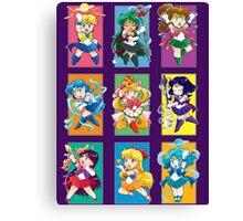 Senshi Blocks Canvas Print