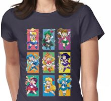 Senshi Blocks Womens Fitted T-Shirt