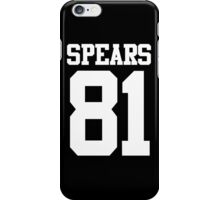 SPEARS 81 iPhone Case/Skin