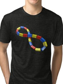 Toy Brick Infinity Tri-blend T-Shirt