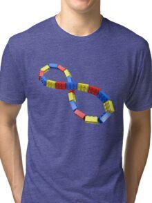 Toy Brick Infinity Tri-blend T-Shirt