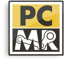 PC Master Race - Patch Canvas Print