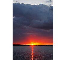 Ontario Sunset Photographic Print