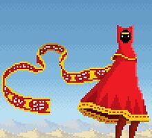 Journey Pixel Art by PXLFLX