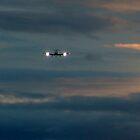 Rainy Night Flight by George Cousins