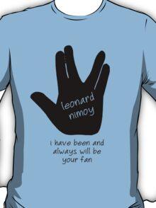 Leonard Nimoy Fans T-Shirt