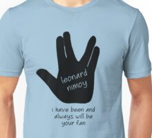 Leonard Nimoy Fans Unisex T-Shirt