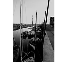 Blakeney Harbour in B&W Photographic Print