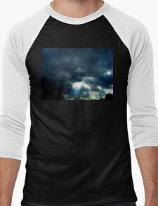BRING LIGHT TO THE DARKNESS Men's Baseball ¾ T-Shirt