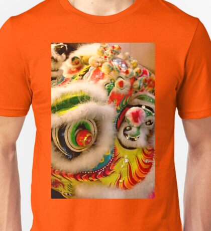 Chinese Dragon in Parade Unisex T-Shirt