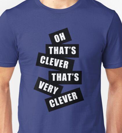 """Clever"" Unisex T-Shirt"