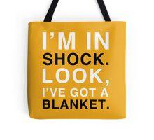 Shock Blanket Tote Bag