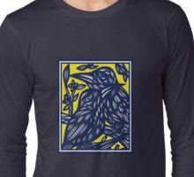 Albarracin Bird Yellow Blue Long Sleeve T-Shirt