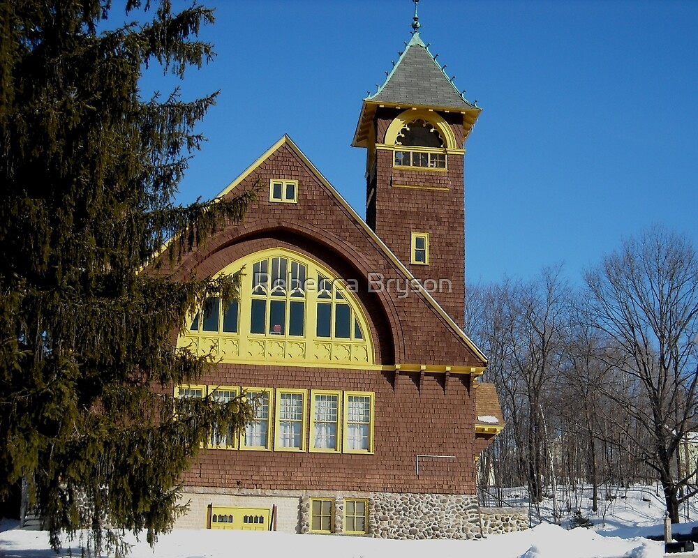 Second Congregational Church S Royalston MA by Rebecca Bryson